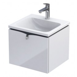 Oristo Siena 50 cm Biały Połysk Szafka pod umywalkę