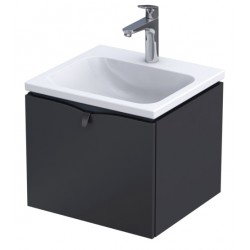Oristo Siena 50 cm Czarny Mat Szafka pod umywalkę