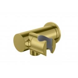 Kohlman uchwyt słuchawkowy z przyłączem wody złoty QW004AEGD