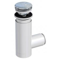 Oristo Biały Mat Korek Stały Syfon Umywalkowy 7 cm (OR00-A-SY-ES-7-2)