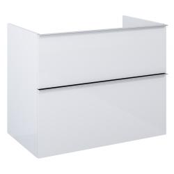 Elita Look White Matt Komoda 80 cm 2S (167606)