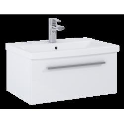 Elita Kwadro Plus White Szafka Z Umywalką Kwadro 60 cm (166730+22052008N)