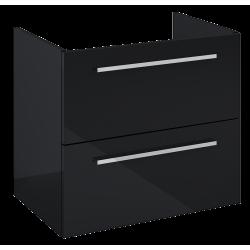 Elita Kwadro Plus Black Komoda 2S 60 (167650)