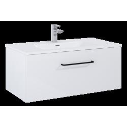Elita Futuris White Szafka Z Umywalką Skappa 90 cm (166932+145835)