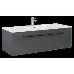 Elita Futuris Anthracite Szafka Z Umywalką Skappa 120 cm