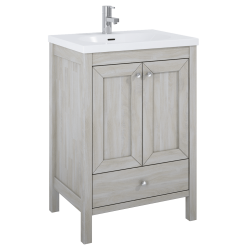 Elita Santos Oak White Wash Szafka Z Umywalką Piazza 60 cm (166380+145710)