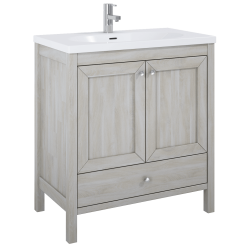Elita Santos Oak White Wash Szafka Pod Umywalkę 80 cm 2D 1S (166383)