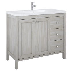 Elita Santos Oak White Wash Szafka 100 2D 3S (166386)