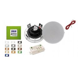 Doyson Zestaw Ścienny Radio, Bluetooth, Aux, Pilot w Kolorze ramki (130 FM BT)