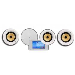 Dexon Odtwarzacz Ścienny Bluetooth Wi-Fi-LAN Radio Internetowe / USB / SD z 4 Głośnikami CS-530K