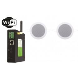 Timple Audio Zestaw Wi-Fi Multiroom z Głośnikami Wodoodpornymi (TWA40+TWIST)