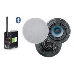 Timple Audio Odtwarzacz Bluetooth z Głośnikami Dwudrożnymi Sufitowymi 6.5' (TMN30EASY + RP 110)
