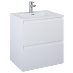 Elita Split White Matt Szafka Z Umywalką Skappa 60 cm (168140+145830)