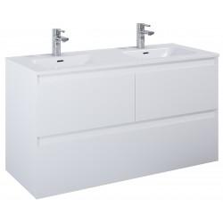 Elita Split White Matt Szafka Z Umywalką Skappa Duo 120 cm (168180+145875)