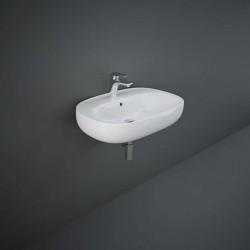 Rak Ceramics Illusion Umywalka Wisząca Biała 65 cm (ILLWB6501AWHA)