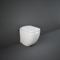Rak Ceramics Illusion Zestaw Miska WC Stojąca + Deska 52 cm (ILLSC3901WH)