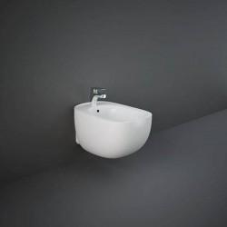 Rak Ceramics Illusion Bidet Podwieszany 52x38cm Biały Połysk / Ukryte Mocowanie (ILLBD2101AWHA)