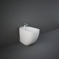 Rak Ceramics Illusion Bidet Stojący 52x38cm Biały Połysk (ILLBD2015AWHA)