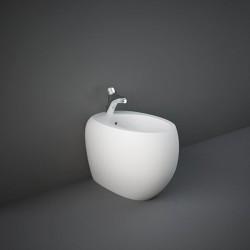 Rak Ceramics Cloud Bidet Stojący 56x40 cm Biały Mat (CLOBD2015500A)