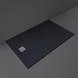Rak Ceramics Feeling Brodzik Prostokątny 100x160 cm Czarny (RFST100160S504)