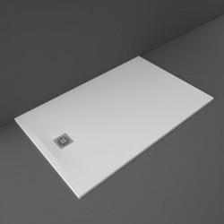 Rak Ceramics Feeling Brodzik Prostokątny 100x160 cm Biały (RFST100160S500)