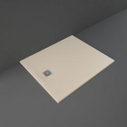 Rak Ceramics Feeling Brodzik Prostokątny 100x120 cm Cappuccino (RFST100120S514)