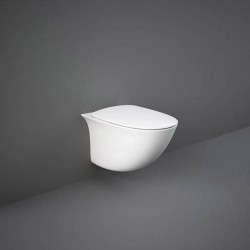 Rak Ceramics Sensation Zestaw Miska WC Podwieszana Rimless 52 cm + Deska (SENS1SET)