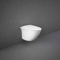 Rak Ceramics Sensation Zestaw Miska WC Podwieszana Rimless 48 cm + Deska WC (SENS2SET)