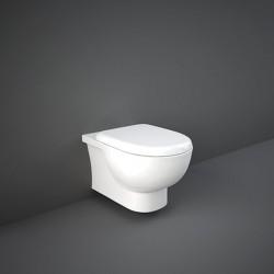 Rak Ceramics Tonique Zestaw Miska WC Podwieszana Rimless + Deska Wc Slim (TQ13AWHA)