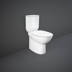 Rak Ceramics Morning Kompakt Miska WC Podwieszana Rimless + Deska WC Slim (MORN2SET)