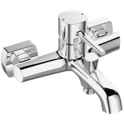 Laveo Pola Bateria Natryskowa Ścienna Bez Zestawu Natryskowego (BAP 010D)