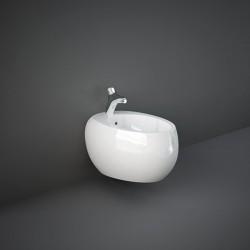 Rak Ceramics Cloud Bidet Podwieszany 56x40 cm Biały Połysk (CLOBD2101AWHA)