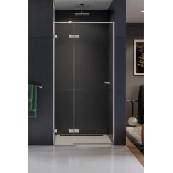 New Trendy Eventa Drzwi Prysznicowe Pojedyncze Lewe 80x200 cm Szkło Przezroczyste (EXK-0128)