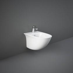 Rak Ceramics Sensation Bidet Podwieszany 52x38 cm Biały Połysk (SENBD2101AWHA)