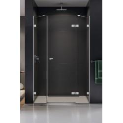 New Trendy Eventa Drzwi Prysznicowe Plus Pojedyncze Prawe 110x200 cm Szkło Przezroczyste (EXK-0145)