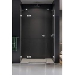 New Trendy Eventa Drzwi Prysznicowe Plus Pojedyncze Lewe 150x200 cm Szkło Przezroczyste (EXK-0148)