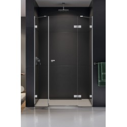 New Trendy Eventa Drzwi Prysznicowe Plus Pojedyncze Prawe 150x200 cm Szkło Przezroczyste (EXK-0149)
