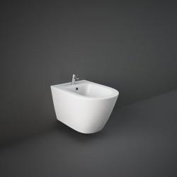 Rak Ceramics Resort Resort Bidet Podwieszany 52x36 cm Biały Połysk (RST07AWHA)