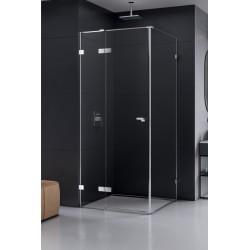 New Trendy Eventa Kabina Prysznicowa Lewa Prostokątna Drzwi Uchylne Pojedyncze 80x70 cm (EXK-0128/EXK-0138)