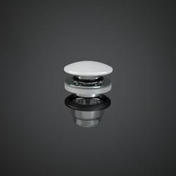 Rak Ceramics Duo Ceramiczny Korek Spustowy Klik-Klak Biały Połysk (DUO000AWHA)