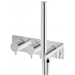 Kohlman Axel Chrom Bateria wannowa z termostatem (QW265A)