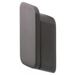 Geesa Shift Brushed Black Wieszak Na Ręcznik Średni Rozmiar Szczotkowana Czerń 919967-09