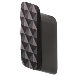 Geesa Shift Brushed Black Wieszak Na Ręcznik z Diamentowym Wzorem Średni Rozmiar Szczotkowana Czerń 919967-09-91
