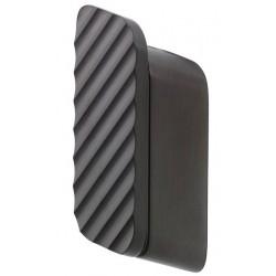 Geesa Shift Brushed Black Wieszak Na Ręcznik z Z Ukośnymi Paskami Średni Rozmiar Szczotkowana Czerń 919967-09-94