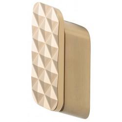 Geesa Shift Brushed Gold Wieszak Na Ręcznik z Diamentowym Wzorem Średni Rozmiar Złoty 919967-07-91