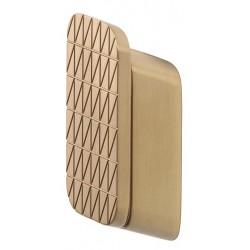 Geesa Shift Brushed Gold Wieszak Na Ręcznik z Z Ukośnymi Paskami Średni Rozmiar Złoty 919967-07-92