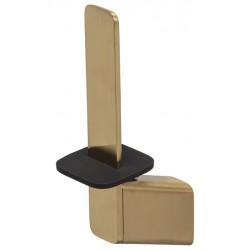 Geesa Shift Brushed Gold Uchwyt na zapasowy papier toaletowy Złoty 919912-07