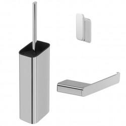 Geesa Shift Chrom Zestaw akcesoriów toaletowych Chrom 919900-02-115