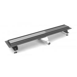 New Trendy VIMO Odpływ liniowy ruszt polerowany / do wypełnienia 80 cm (OL-0035)