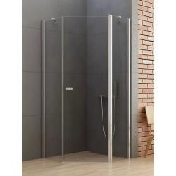 New Trendy New Soleo Kabina Prysznicowa Pięciokątna Drzwi Uchylne Pojedyncze 80x80 cm (K-0606)